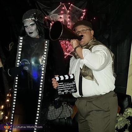 1920s Silent Film Movie Set Costume