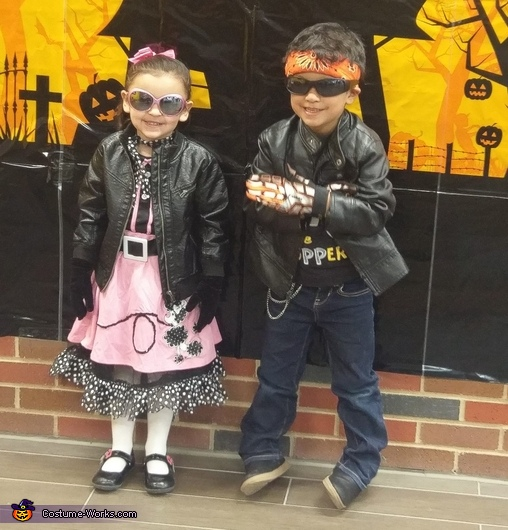 1950's Biker and Poodle Skirt Cutie Costume