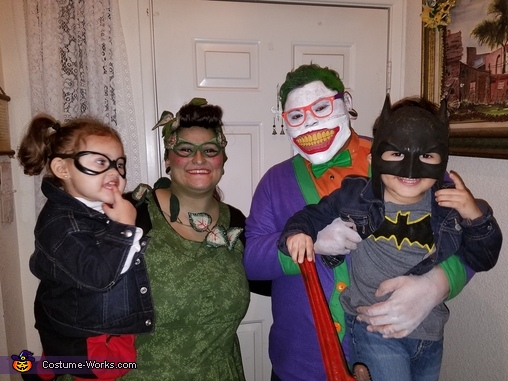 1950's Bombshell Batman Homemade Costume