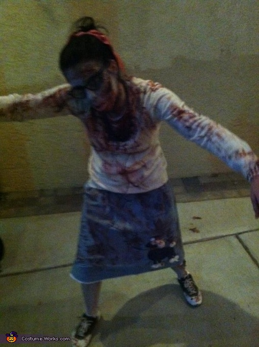 1950's Zombies Homemade Costume