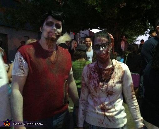 1950's Zombies Costume