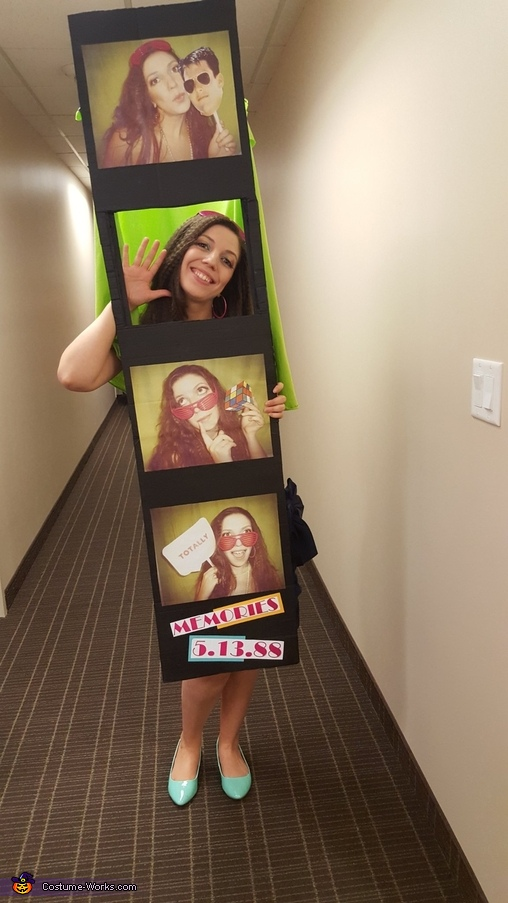 1980s Photo Booth Homemade Costume