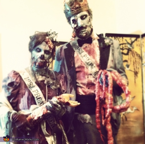 1983 Zombie Prom King & Queen Costume