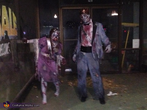 1983 Zombie Prom King & Queen Homemade Costume