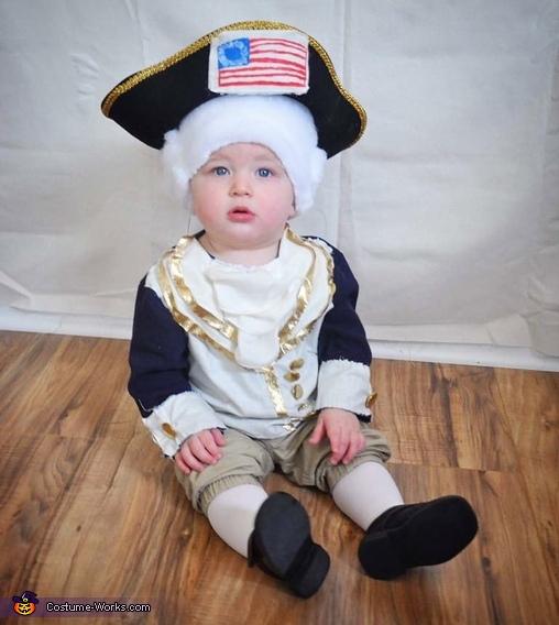 1st President 1st Halloween Costume