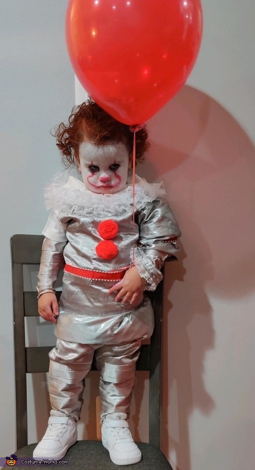 1yr old Pennywise Costume