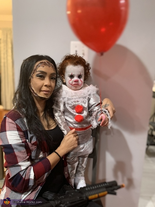 1yr old Pennywise Homemade Costume