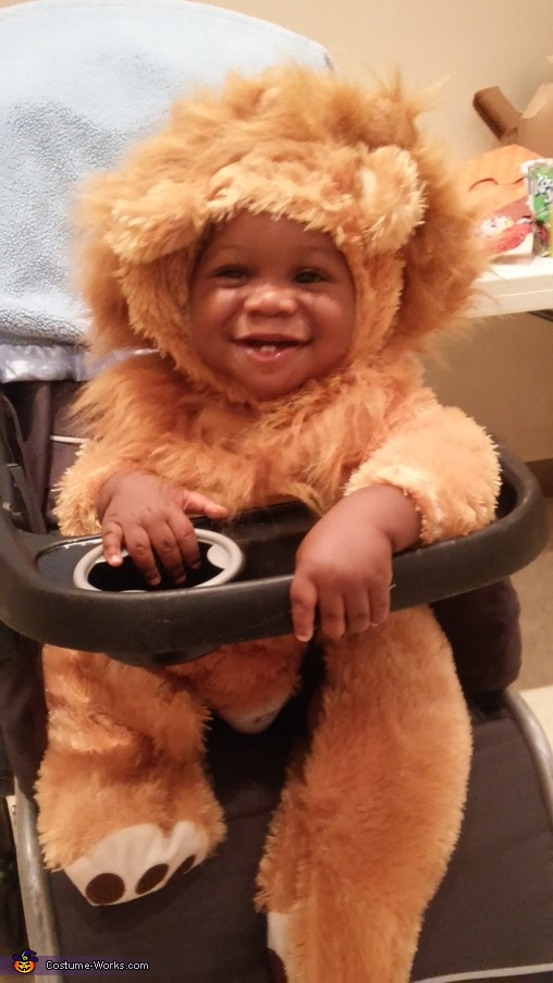 2-Teethed Lion Costume