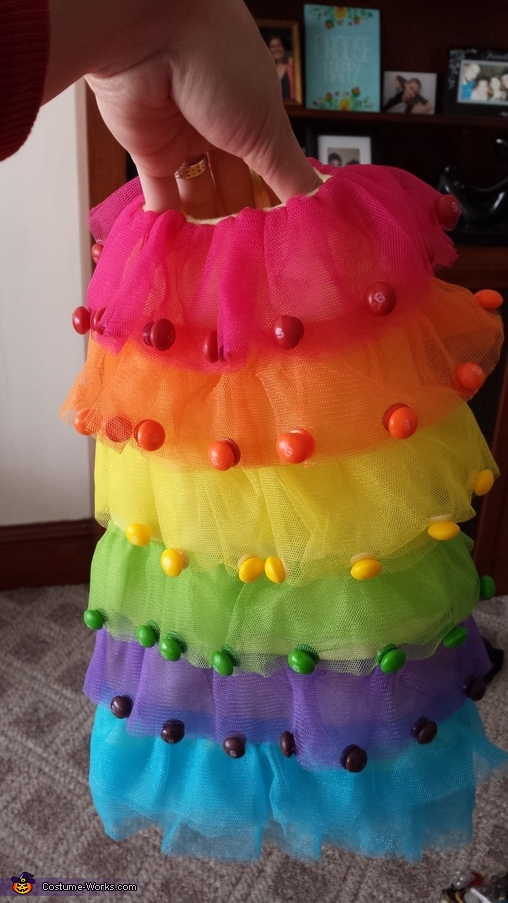 Queen of Sweets Homemade Costume