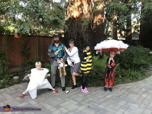 2020 Family Homemade Costume