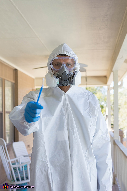 CDC Employee, ready to swab you, #2020 Costume