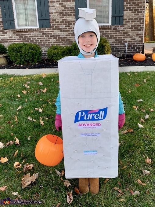 2020 Pandemic Survival Kit Homemade Costume