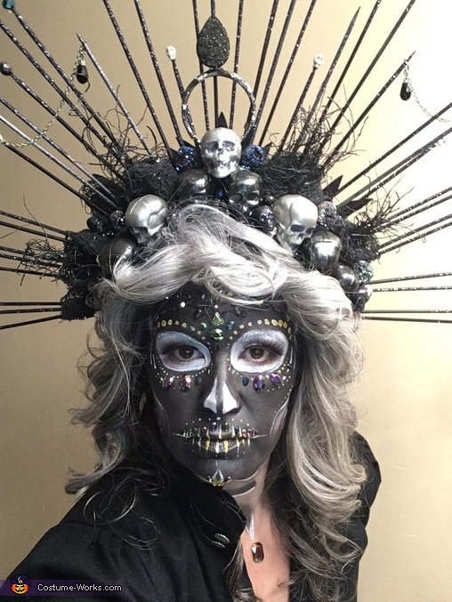 Rhinestones and crown, 2020's Chipper Cousin Costume