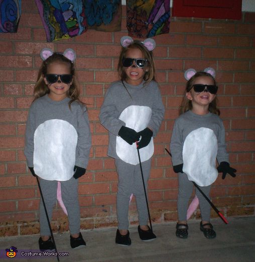 Three Blind Mice - Homemade costumes for kids