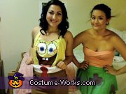 Spongebob and Patrick Star Costume
