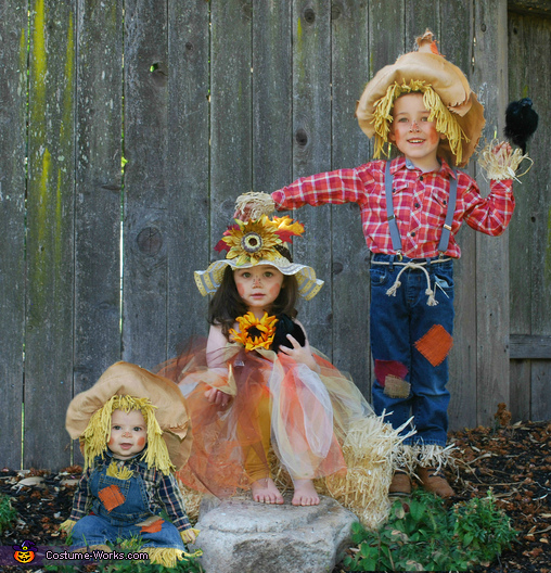 3 Little Scarecrows Costume