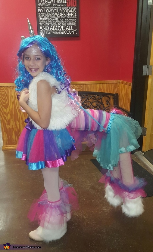 Magical Unicorn, 4-Legged Magical Unicorn Costume