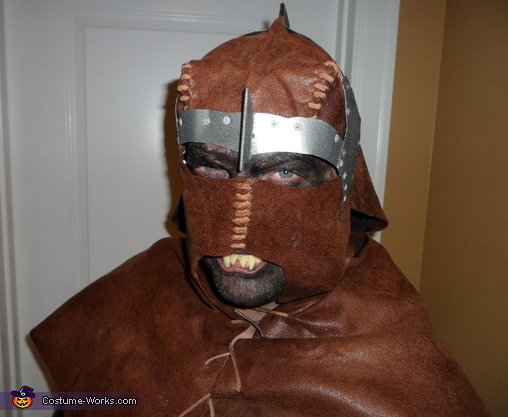 Homemade Uruk Hai Scout from Lord of the Rings Costume