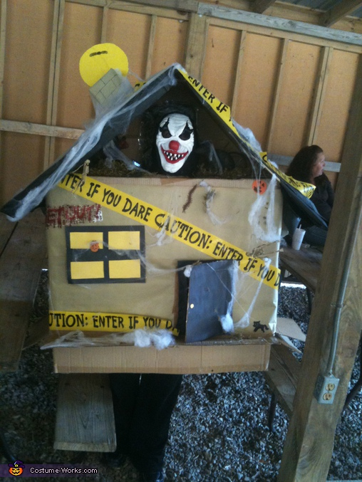 Homemade Haunted House Costume