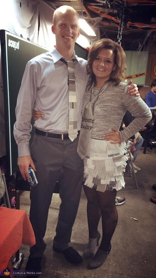 50 Shades of Grey Homemade Costume