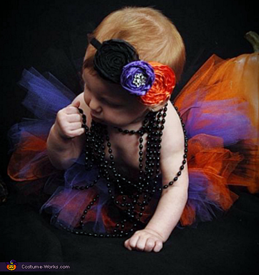 50s Flapper Girl Baby Costume
