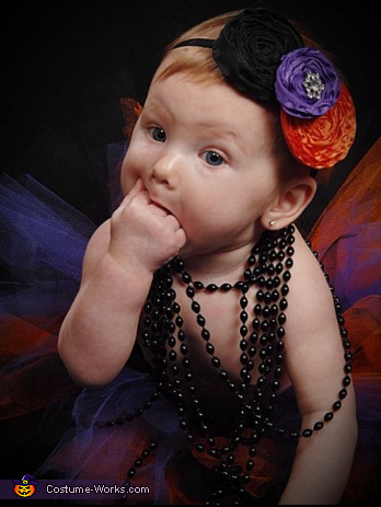 As all babies do..., 50s Flapper Girl Baby Costume