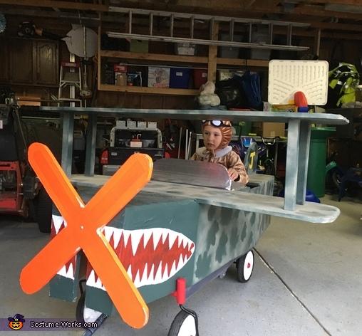 50's Pilot Costume