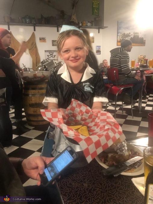 50s Waitress Costume