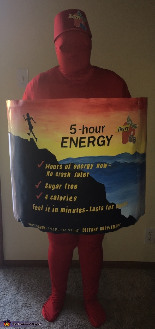 5 Hour Energy Drink Costume