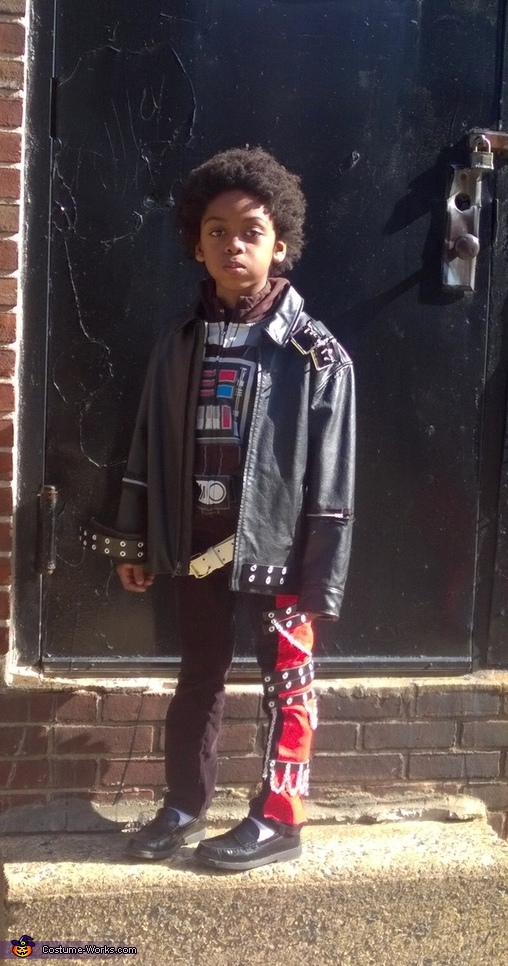 Tristan as MJ from the 'BAD' video, 5 Michael Jacksons Costume