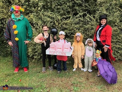 5 Ring Circus Costume