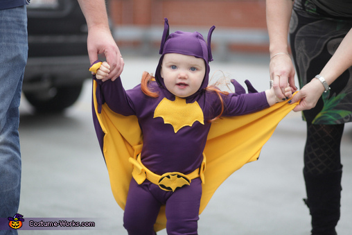 60u0027s Era Batgirl Baby Homemade Costume  sc 1 st  Costume Works & 60u0027s Era Batgirl Baby Costume - Photo 3/5
