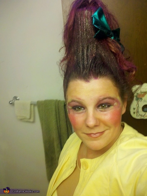 60's Troll Doll DIY Costume