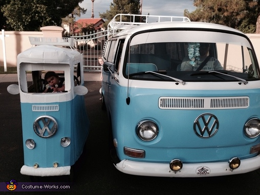 Daughter like Father, 71' VW Bus Costume