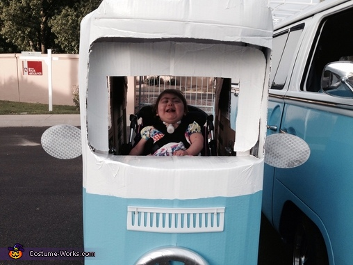 71' VW Bus Homemade Costume