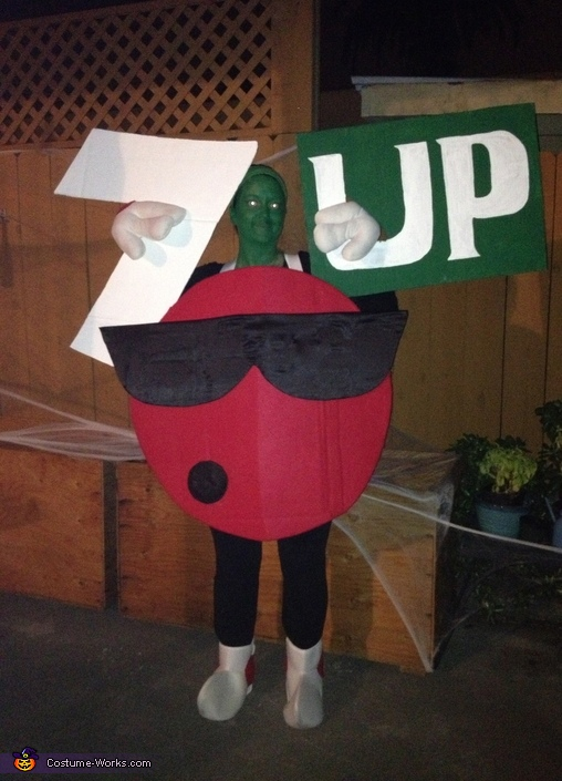 7 Up Cool Spot Costume