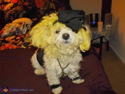 Coco Modugno as 80s Madonna, Coco as 80s Madonna Costume
