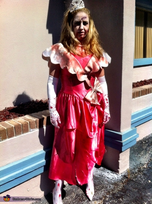 80's Prom Queen Zombie Costume