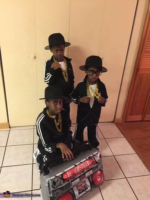 Run DMC, 80's Rappers Costume