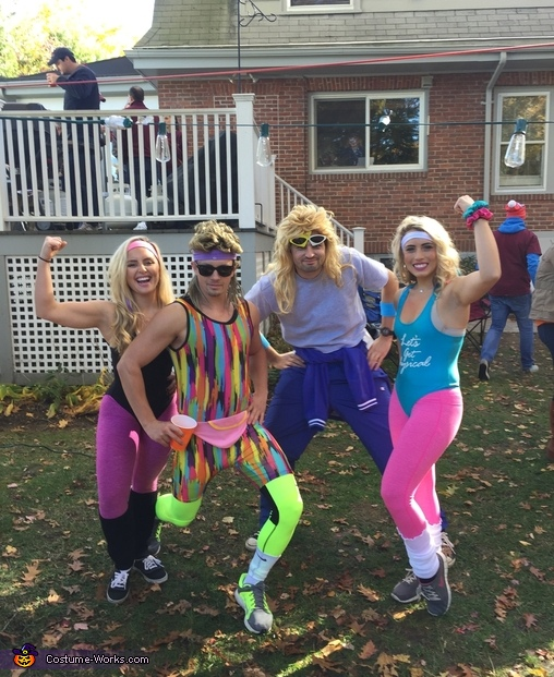 80s Workout Homemade Costume