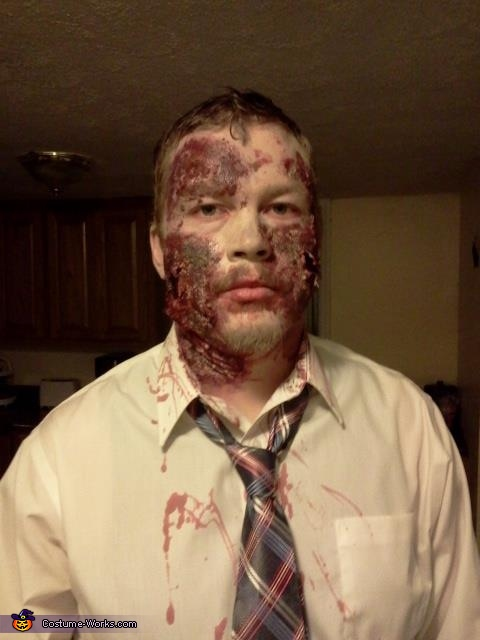 80s Zombie Homemade Costume