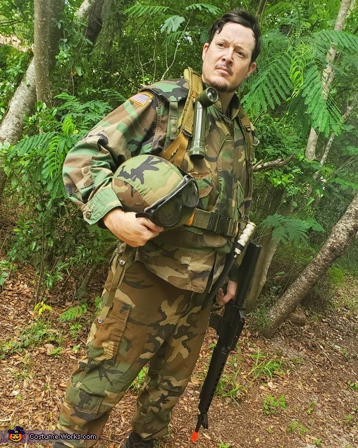 85' Special Forces Army Soldier Homemade Costume