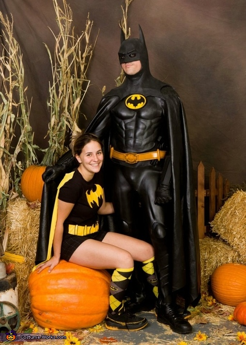 89 Batman and Batgirl Costume