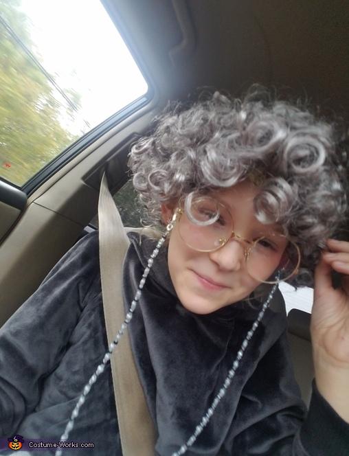 9 yo Grandma Costume