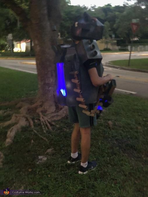 Back-Night, A-2138 Costume