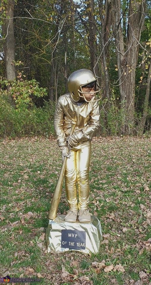 A Baseball Trophy Costume