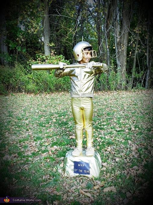 A Baseball Trophy Homemade Costume