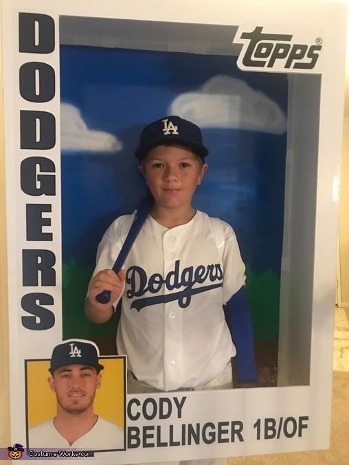 A Boy's Hero Homemade Costume