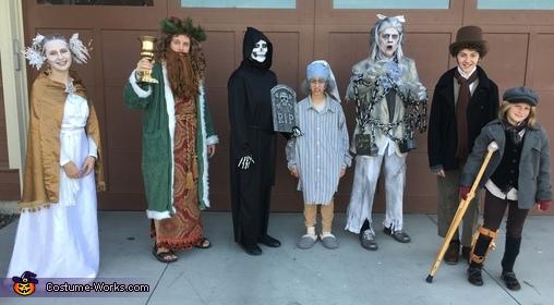 A Christmas Carol Family Costume