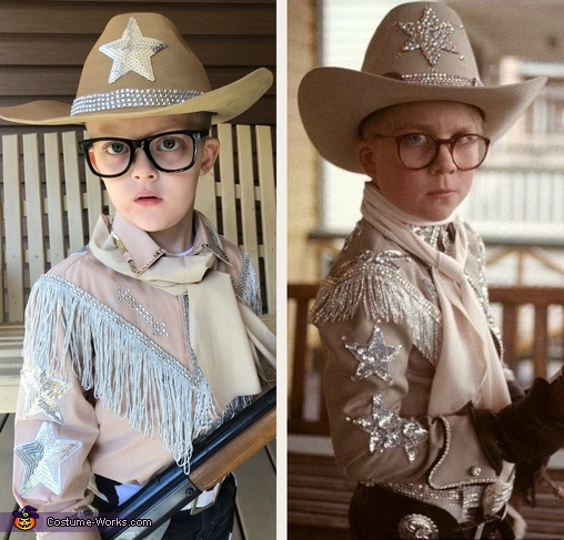 A Christmas Story Homemade Costume